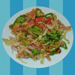 web-_0042_fritura de camarones y gambillas con cebolla y pimiento